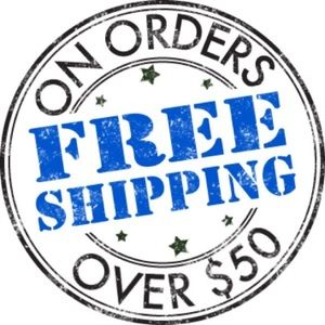 Other - Free shipping on orders $50.00 and above!